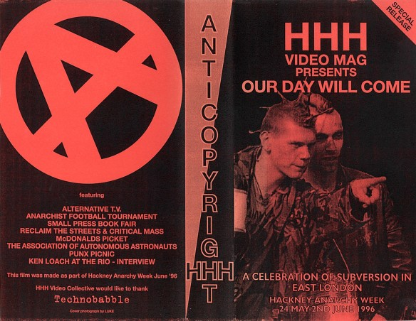 hackney anarchy week vhs cover