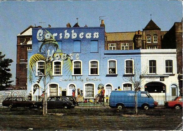 Caribbean House postcard