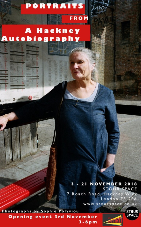 portraits from a hackney autobiography invite